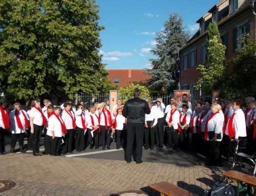 Chorkonzert in Ruppertsberg